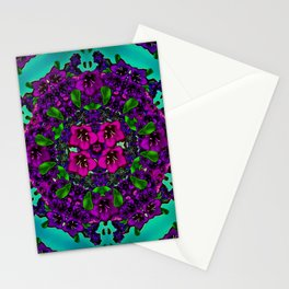mandala universe and all will be in bloom again Stationery Cards