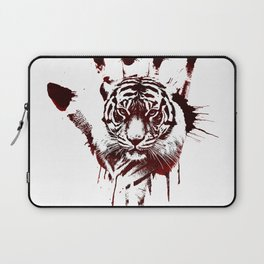 Conflict of Tiger Laptop Sleeve