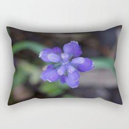 Muscari armeniacum(Armenian grape hyacinth) Rectangular Pillow