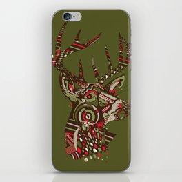 ROAD KILL ~ GREEN iPhone Skin