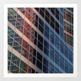 Manhattan Windows - Belts  Art Print