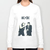 dc Long Sleeve T-shirts featuring AC/DC by Nechifor Ionut
