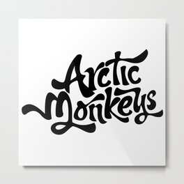 arcticmonkeys 10 Metal Print