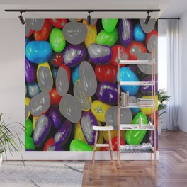 Spray grey Wall Mural