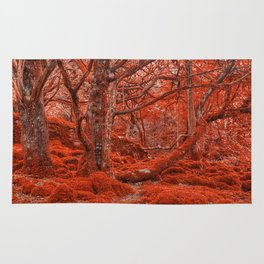 Ruby Moss Forest Rug