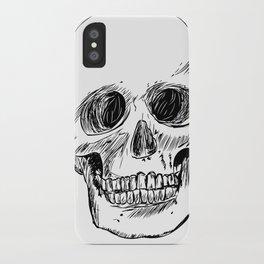 Simple Skull iPhone Case