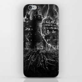 dark castle iPhone Skin