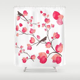 BEGONVIL-AKDENIZ Shower Curtain
