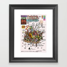 Busters from Babylon Framed Art Print