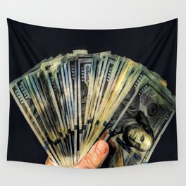 Money - Graphic 3 Wall Tapestry