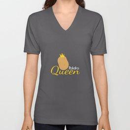 Potato Queen Potato Farmer Costume Unisex V-Neck
