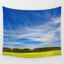 Wye Island Sky Field - Eco Harmony Wall Tapestry