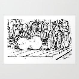 Hello Cello Art Print
