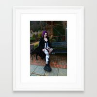 android Framed Art Prints featuring Android by Toxic Tears