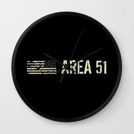Black Flag: Area 51 Wall Clock