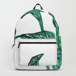 green calla lily Backpack