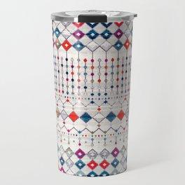 9 - Modern Traditional Moroccan Artwork. Travel Mug