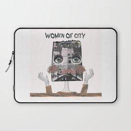 Women of city White Laptop Sleeve