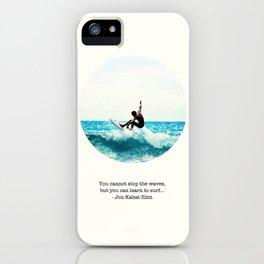 Surf Quote iPhone Case