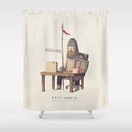free-lancer Shower Curtain