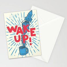 Wake Up!! Stationery Cards
