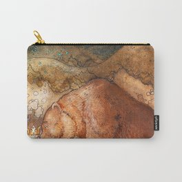 John Bauer - Poor Little Bear - Digital Remastered Edition Carry-All Pouch