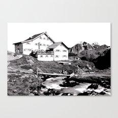 Neue Regensburger Hütte Canvas Print