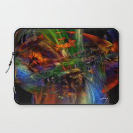 Nature Spilling Over Laptop Sleeve