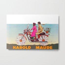 Harold and Maude Metal Print