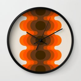 Echoes - Golden Wall Clock