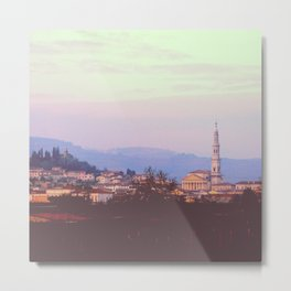 The Italian Landscape Metal Print