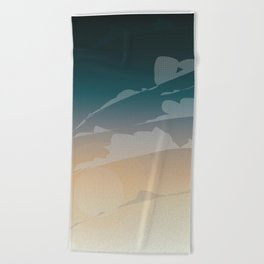 Endless Sky Beach Towel