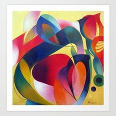Ruben18 Art Print