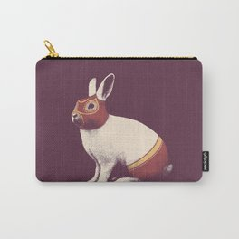 Lapin Catcheur (Rabbit Wrestler) Carry-All Pouch