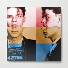 Classic Frank Sinatra  Metal Print