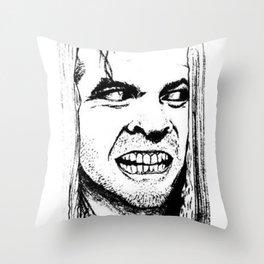 Heeeeere's Johnny Throw Pillow