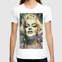 marilyn T-shirts featuring MARILYN by Vonis