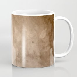 Watercolor Valentine Brown Background Coffee Mug