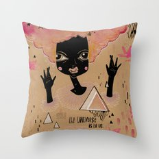 It's in us. Throw Pillow