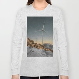 Above Mountains Long Sleeve T-shirt