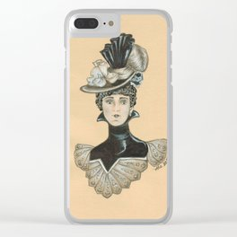 Madame Vivian Clear iPhone Case