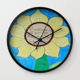 The gardens of Buckingham and Nicks Wall Clock