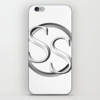sports iPhone & iPod Skins featuring Super Sports by Deion Hulse