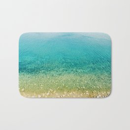 Mediterranean Sea, Italy, Photo Bath Mat