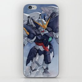 Gundam Wing Zero watercolor iPhone Skin