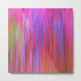 223 - Abstract colour texture design Metal Print