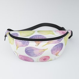Watercolor Figs Fanny Pack