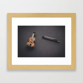 Miniature Violin  Framed Art Print