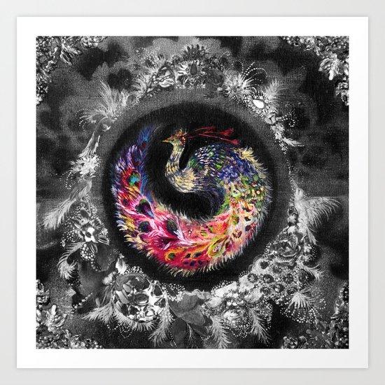 Oracular Orbit - Special Edition Print Art Print