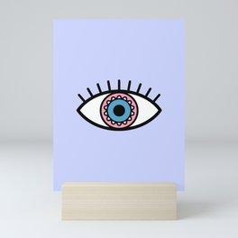 Evil eye Mini Art Print